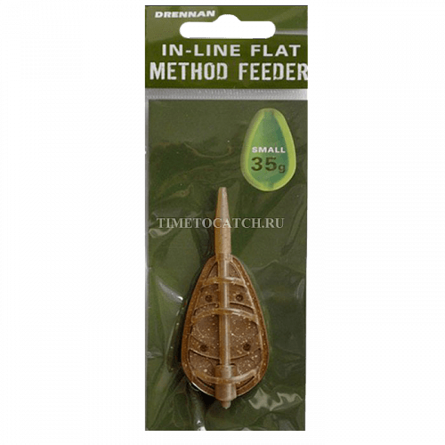 Кормушка фидерная DRENNAN In-Line Flat Method Feeder Small 35g